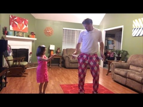 Watch Father Daughter Duo Dance Their Hearts Out To 'Can't Stop The Feeling'