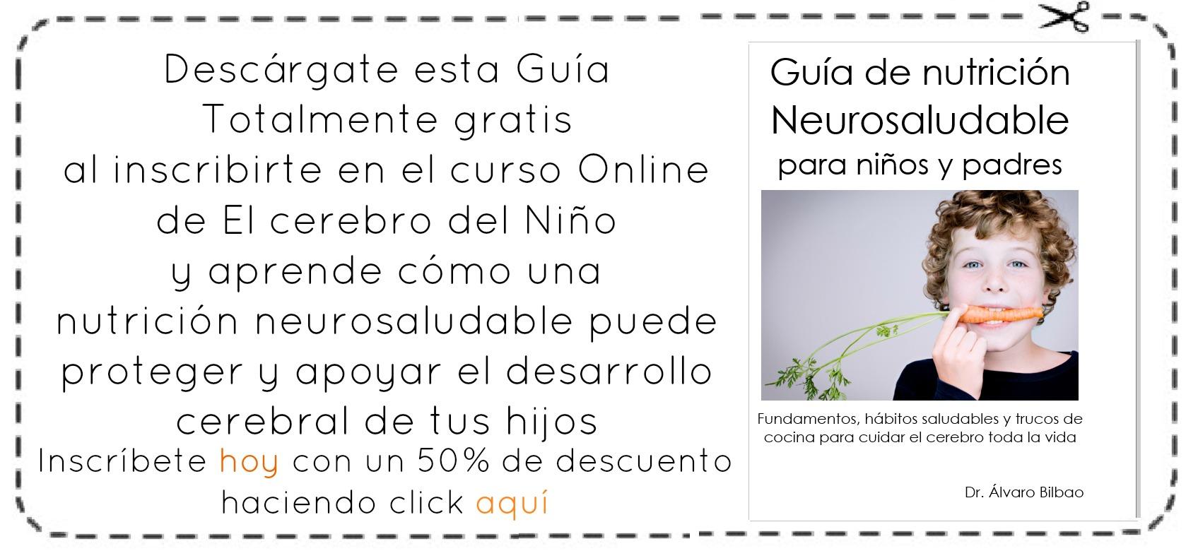 Cupón Nutrición Neurosaludable