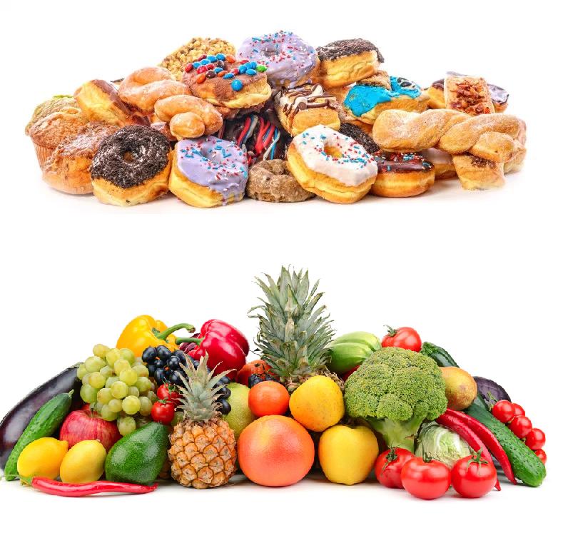Frutas o verduras