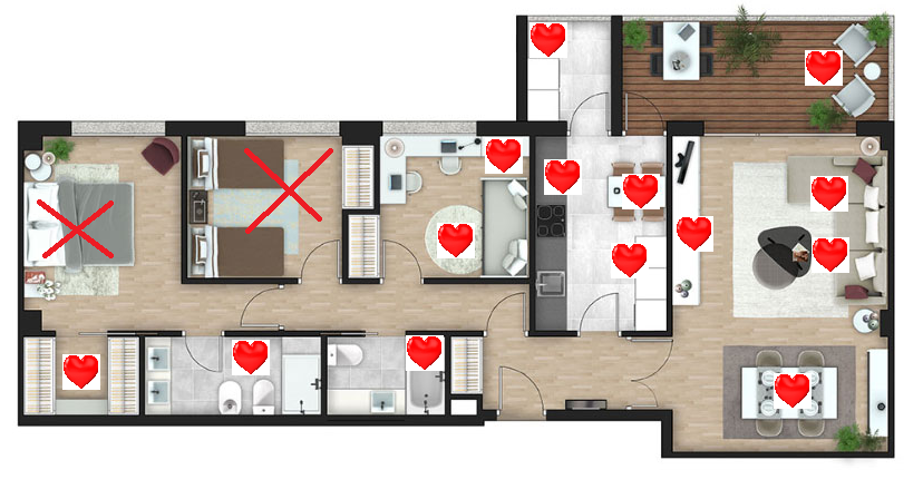Plano casa amor