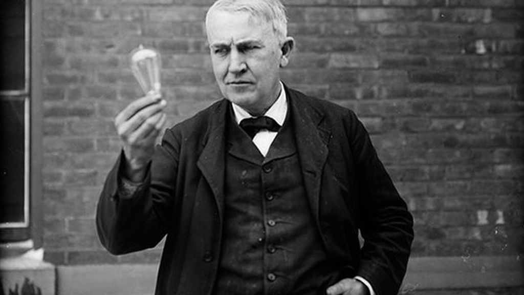 La madre Thomas Edison Carta