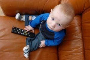 Como apagar la tele a un niño